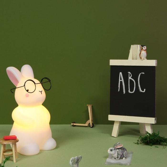 Rechargeable Bunny Night Lights Fun Light Ups Teeny & Tiny House Of Little Dreams