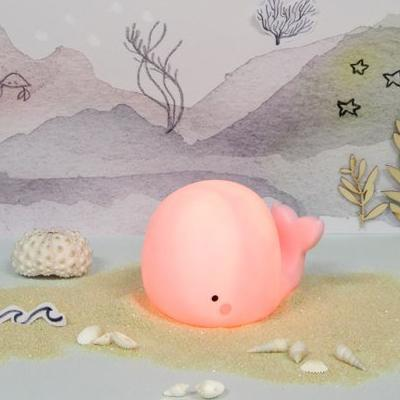 Whale Light Small Pink Fun Light Ups Teeny & Tiny House Of Little Dreams