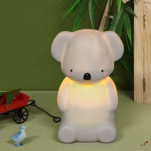 Koala Light Small Grey Fun Light Ups Teeny & Tiny House Of Little Dreams
