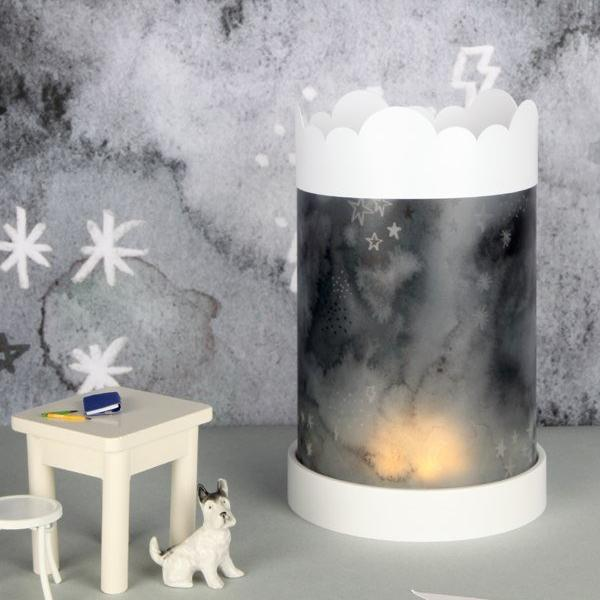 Table Lamp Black Sky