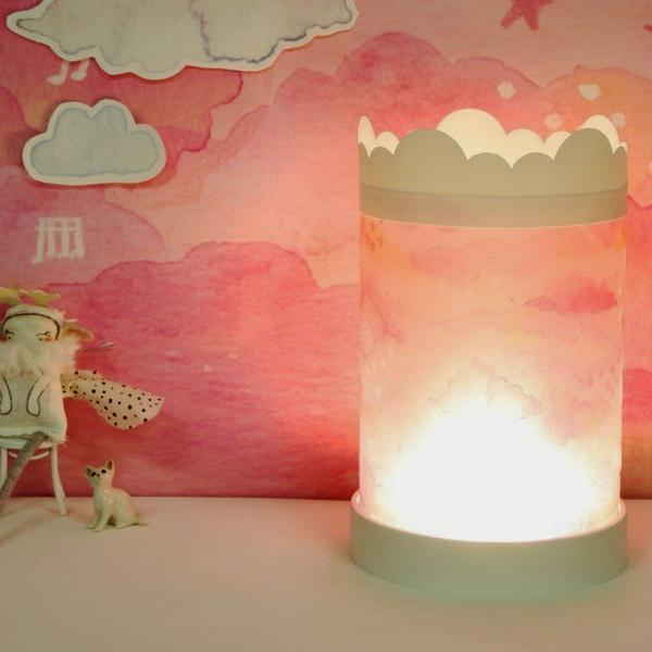 Table Lamp Pink Sky