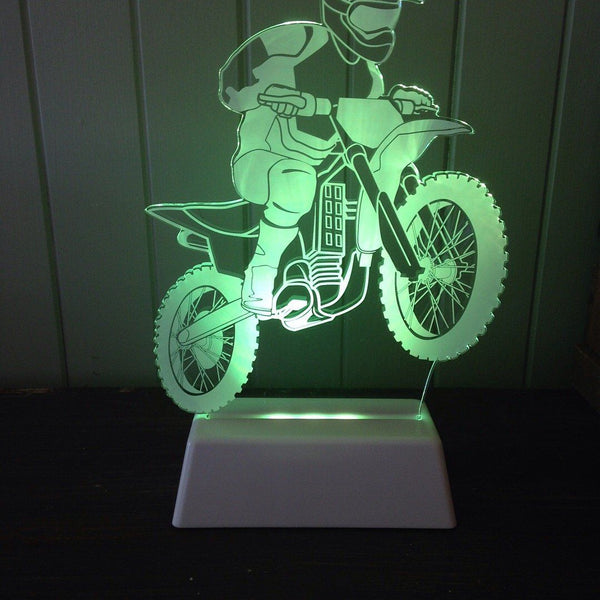Dirt Bike Night Light