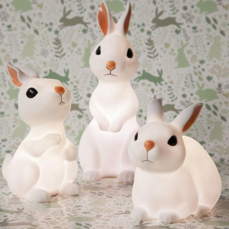 Little Bunny Standing Light Fun Light Ups Delight Decor House Of Little Dreams