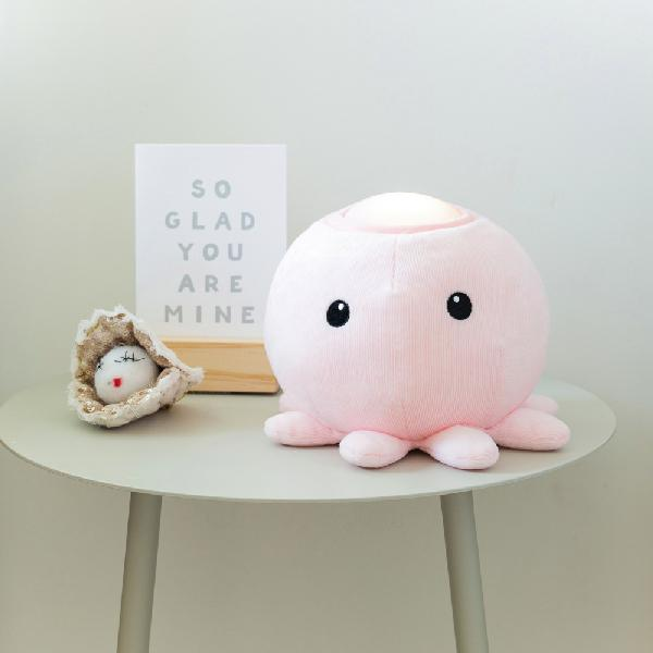 Hugglo Octopus Pink Plush light Hugglo House Of Little Dreams