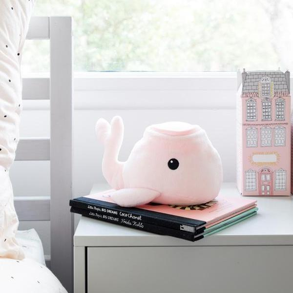 Hugglo Pink Whale