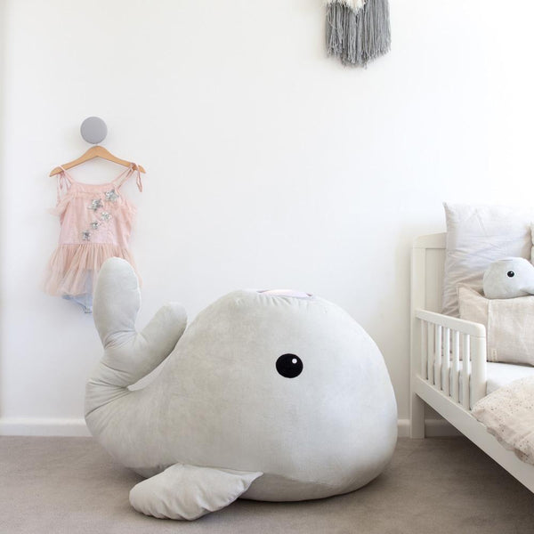XL Hugglo Plush Whale Night Light