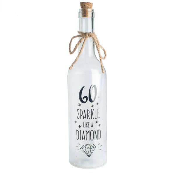 60th Wishlight Bottle Home Decor Wishlights House Of Little Dreams
