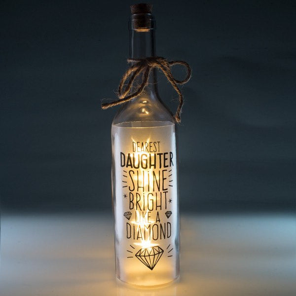 Daughter Wishlight Bottle Home Decor Night Light