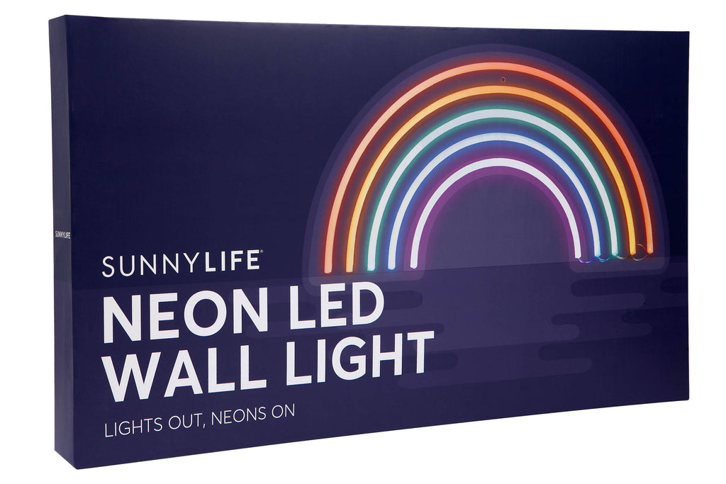 Rainbow Neon LED Wall Light Wall Light Sunnylife House Of Little Dreams
