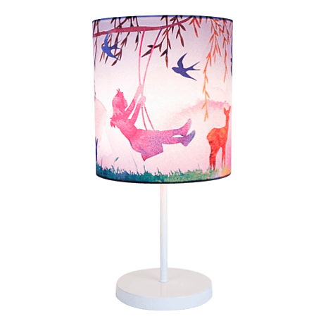 Little Girl on Swing Table Lamp - Micky & Stevie Lamp Micky & Stevie House Of Little Dreams