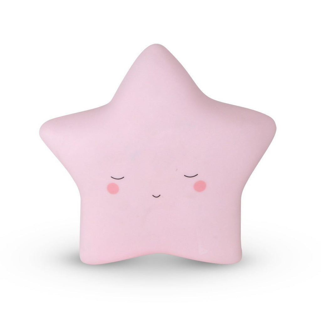 Star Night Light Wall Mounted Pink
