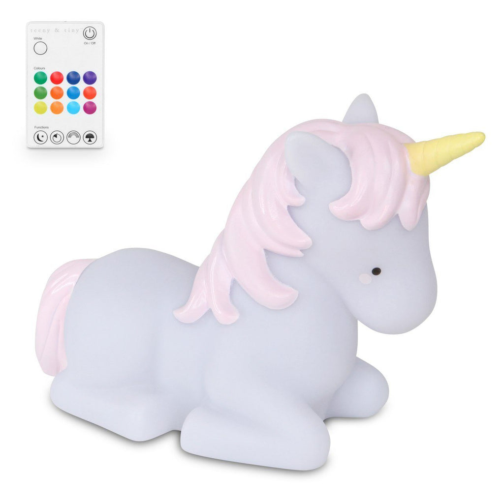 Unicorn Night Light Medium Remote Controlled Lamp Teeny & Tiny House Of Little Dreams