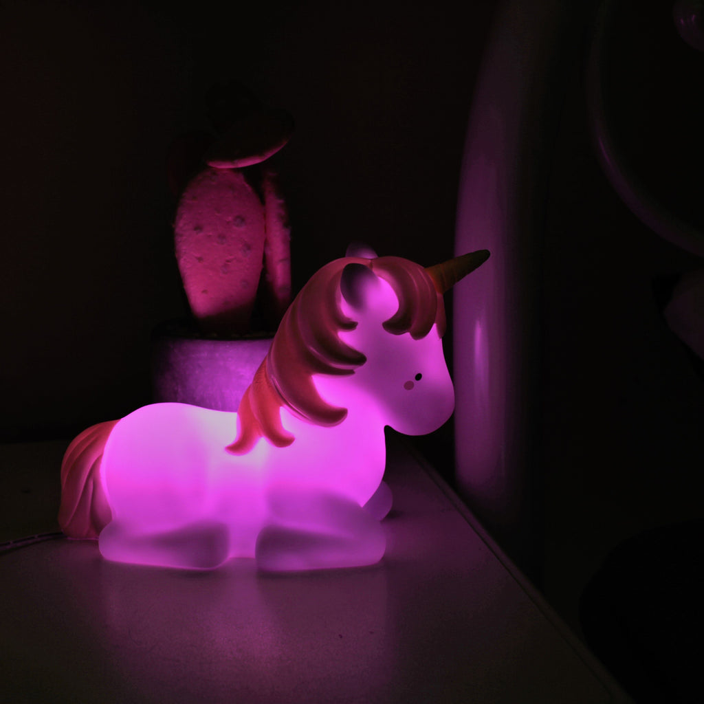Unicorn Night Light Medium Remote Controlled
