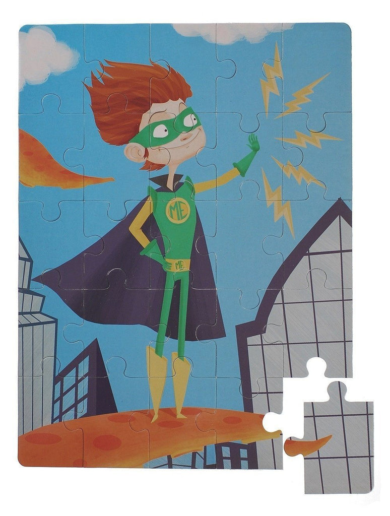 Superhero kid puzzle Puzzles and Games Glottogon House Of Little Dreams