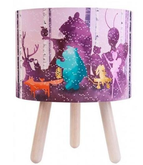 Wild Imagination Lamp Pink - Micky & Stevie Kids Lamps Night Light