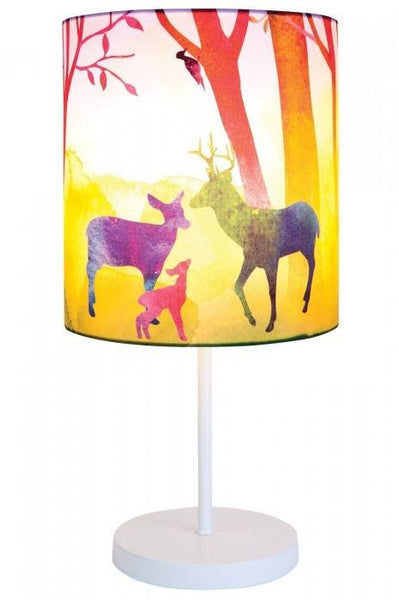 Forest Print Lamp Kids Lamps Night Light