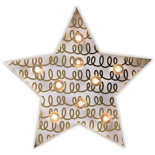 Little Paper Co Star Marquee Light Night Light