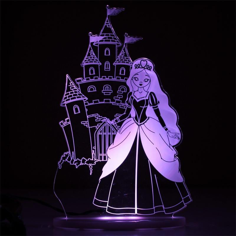 My Dream Light Princess Lamp My Dream Light House Of Little Dreams