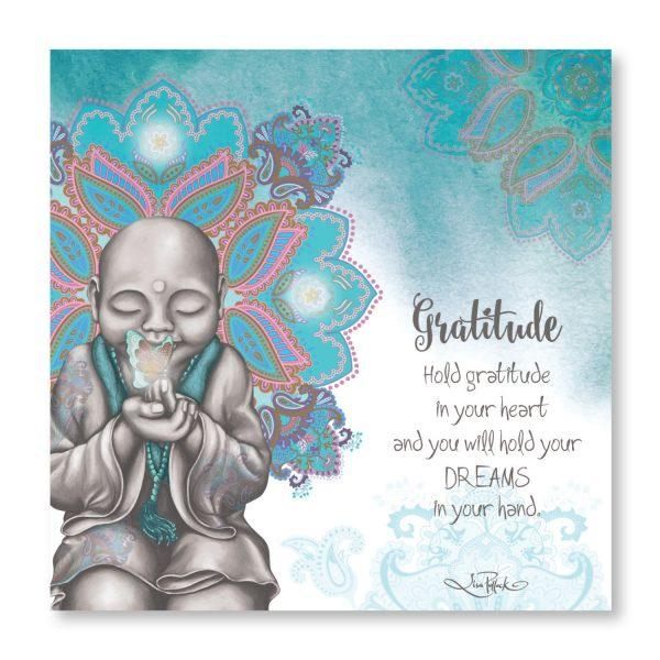 Gratitude LED Mindful Soul Canvas