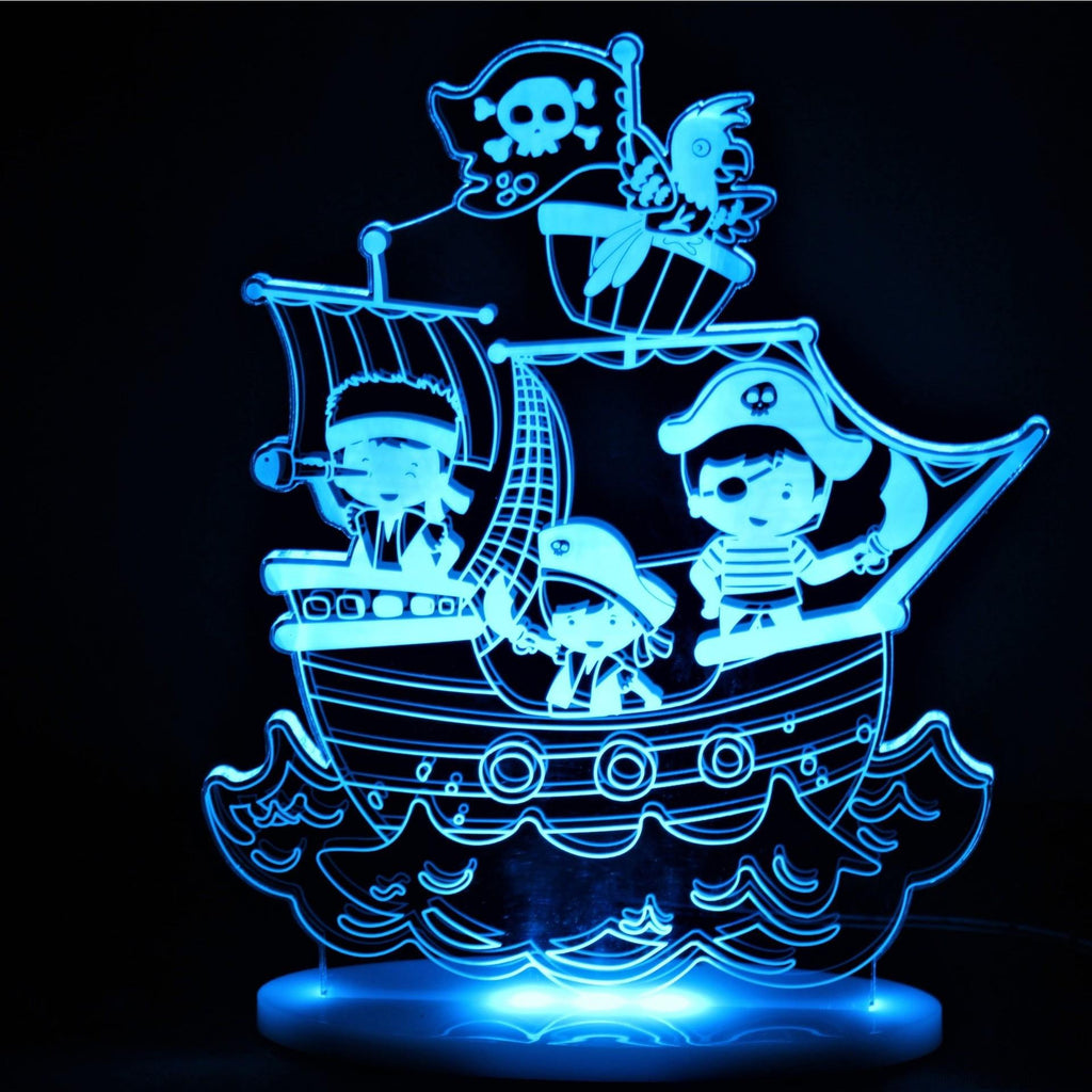 My Dream Light Pirate Lamp My Dream Light House Of Little Dreams