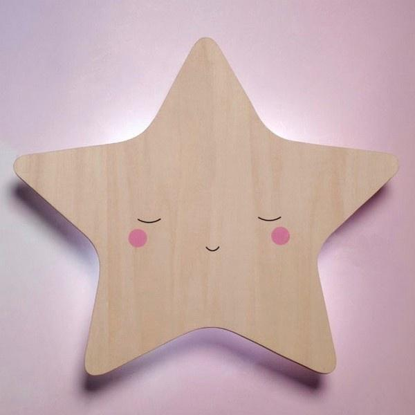 Little Dreams Silhouette Star Wall Light Little Dreams House Of Little Dreams