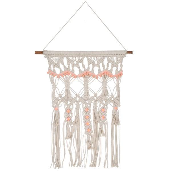 Macrame Wall Hanging Peach Trim Wall Hangings Inspire by The Design Edge House Of Little Dreams