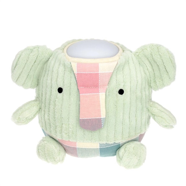 Hugglo Elephant Green Plush light Night Light
