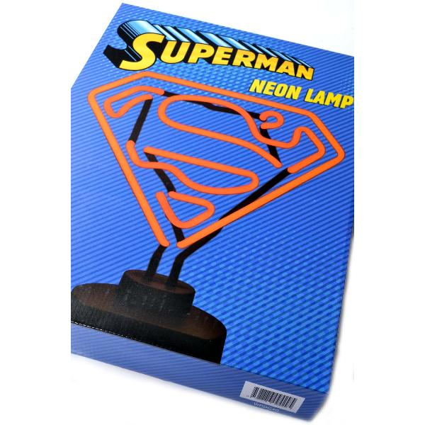 Superman Neon Lamp Lamp Wicked Replicas House Of Little Dreams
