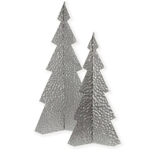 Metal Tree Silver Small Christmas Decor Delight Decor House Of Little Dreams