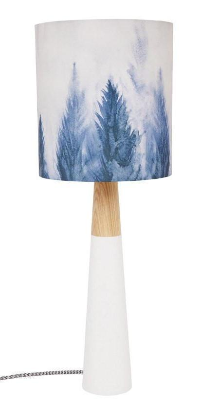 Mountain Pines Fabric Lamp Table Lamp Night Light