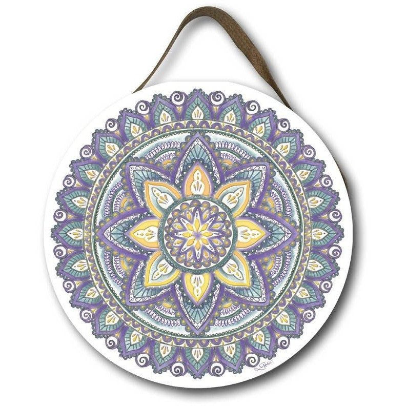 Cherish Mandala - Round Wall Hanging Wall Hangings Lisa Pollock House Of Little Dreams