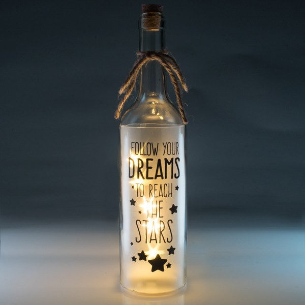 Dreams Wishlight Bottle Home Decor Night Light