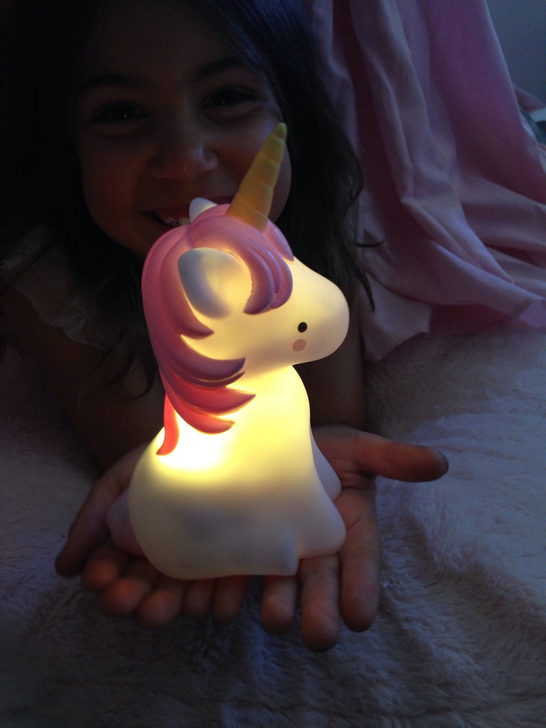 Rechargeable Unicorn Night Light Fun Light Ups Teeny & Tiny House Of Little Dreams