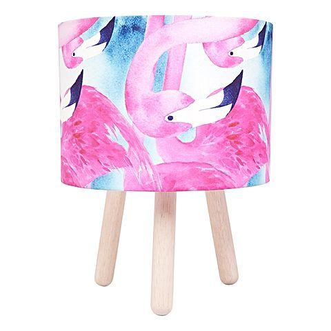 Flamingo Fabric Lamp Lamp Micky & Stevie House Of Little Dreams