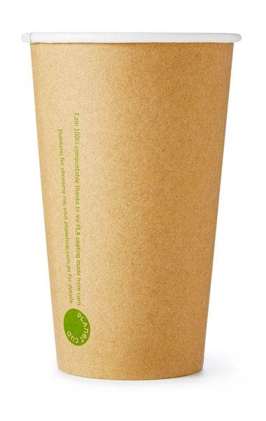 12oz SLIM Kraft Cup from PlanetWare