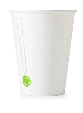 12oz White Planet Cup from PlanetWare