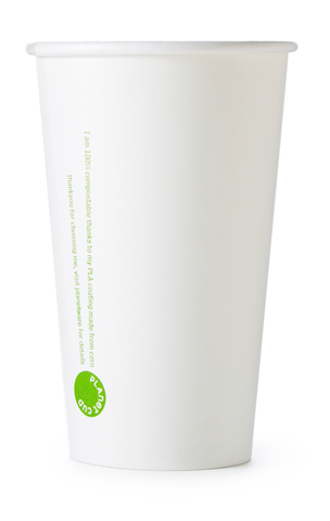 12oz SLIM White Planet Cup from PlanetWare