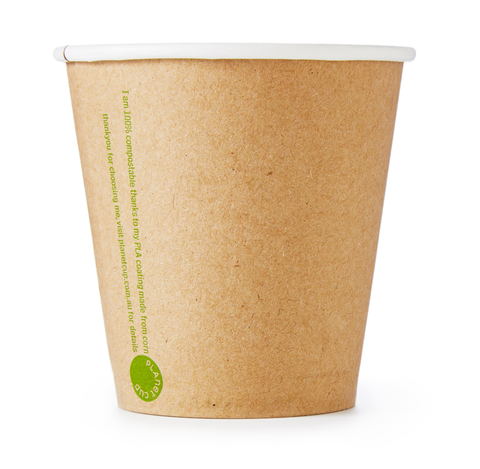 6oz Kraft Cup from PlanetWare