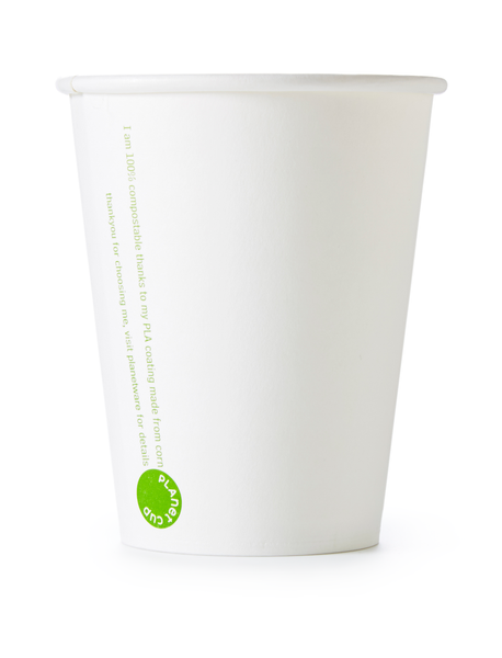 8oz White Planet Cup from PlanetWare