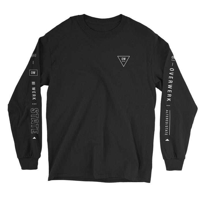 Tri-Logo Long Sleeve Shirt