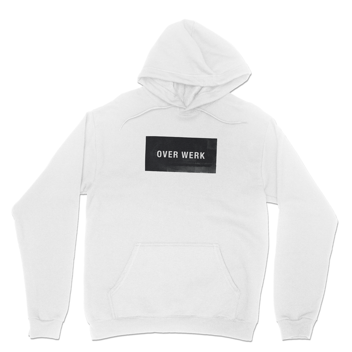 Big Block Fleece Knit Hoodie