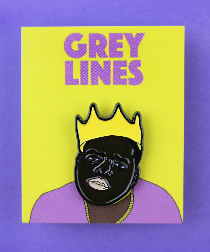 Notorious BIG (Enamel Pin)