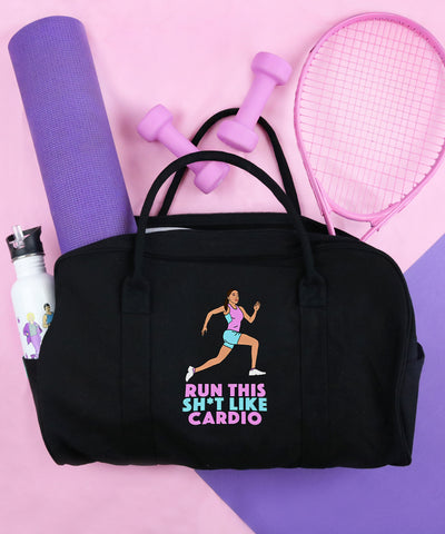 Run This Sh*t Like Cardio (Gym Bag)