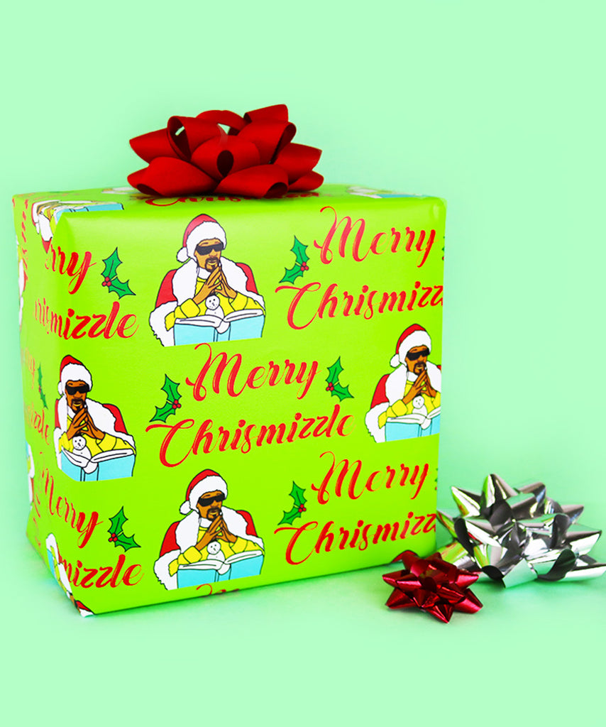 Merry Chrismizzle (Wrapping Paper)
