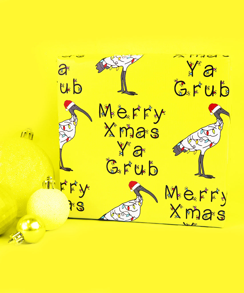 Merry Xmas Ya Grub (Wrapping Paper)