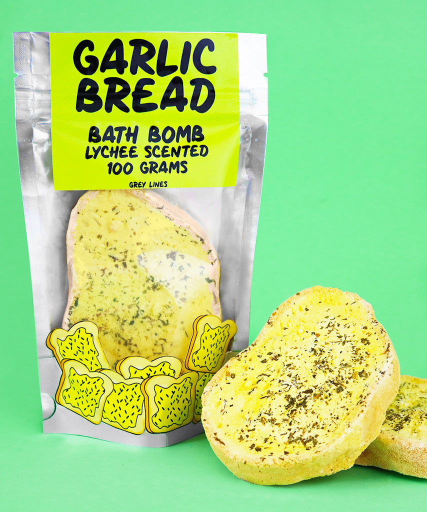 Garlic Bread Bath Bomb