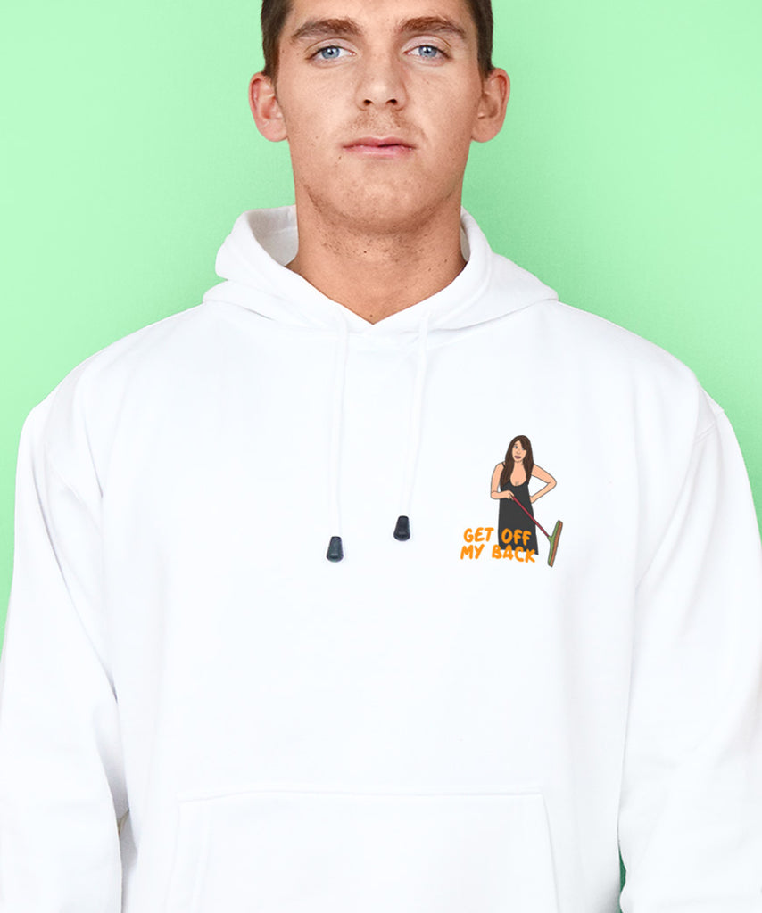 Get Off My Back (Mens Hoodie)