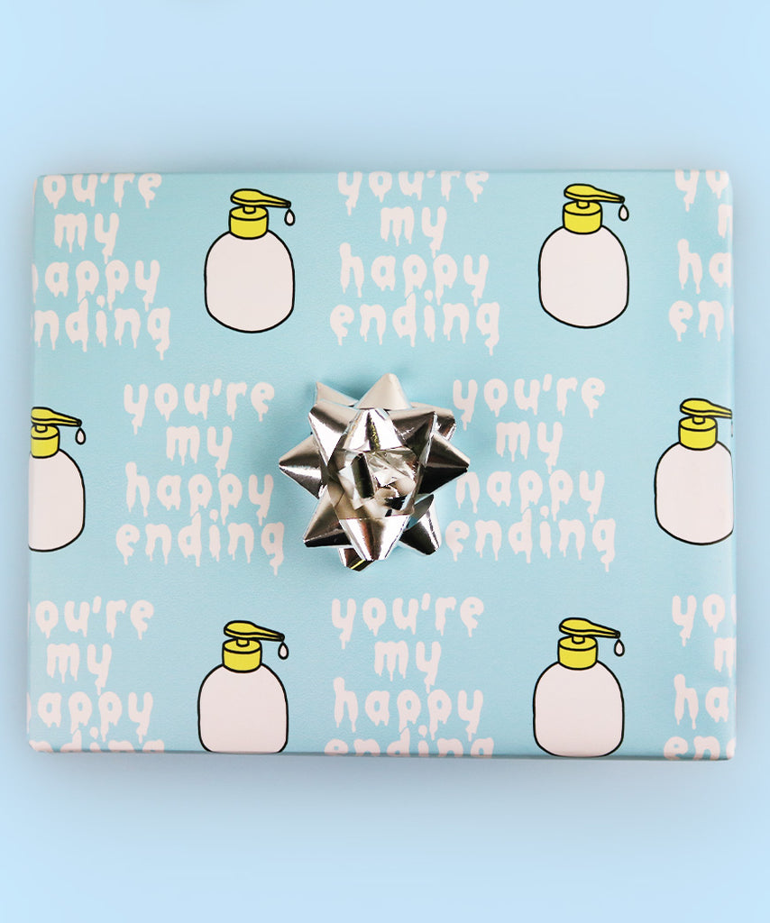 You're My Happy Ending (Wrapping Paper)