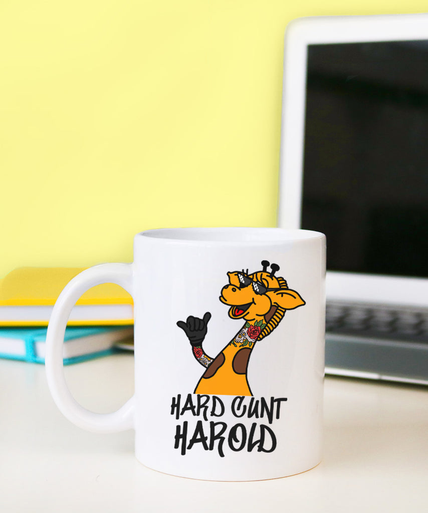Hard C*nt Harold (Coffee Mug)