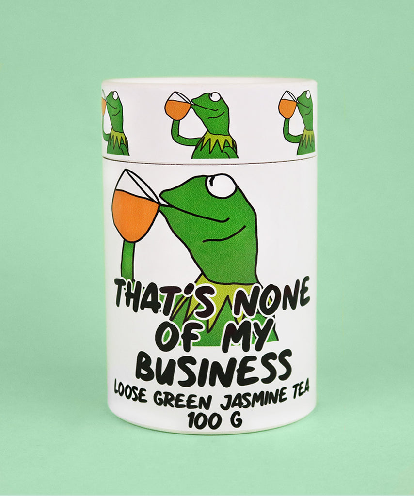 That's None Of My Business (100g Green Jasmine Tea)
